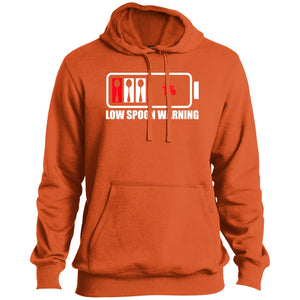 Low Spoon Warning Tall Pullover Hoodie - The Unchargeables