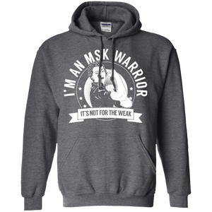 Medullary Sponge Kidney - MSK Warrior Not For The Weak Pullover Hoodie 8 oz. - The Unchargeables