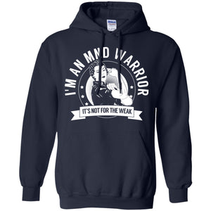 Motor Neurone Disease - MND Warrior NFTW Pullover Hoodie 8 oz.