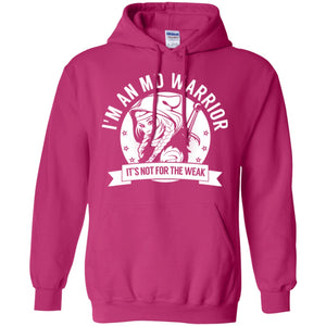 Sweatshirts - Muscular Dystrophy - MD Warrior Hooded Pullover Hoodie 8 Oz.