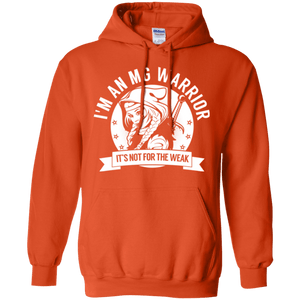 Myasthenia Gravis - MG Warrior Hooded Pullover Hoodie 8 oz. - The Unchargeables