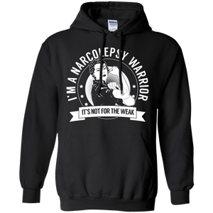 Sweatshirts - Narcolepsy Warrior Not For The Weak Pullover Hoodie 8 Oz