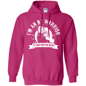 Neurofibromatosis - NF Warrior Not For The Weak Pullover Hoodie 8 oz - The Unchargeables