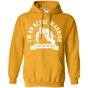 Non-cystic fibrosis bronchiectasis -  NCFBE Warrior NFTW Pullover Hoodie 8 oz.