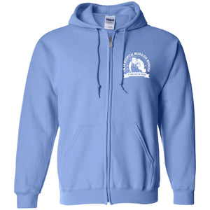 Occipital Neuralgia Warrior NFTW Zip Up Hooded Sweatshirt - The Unchargeables