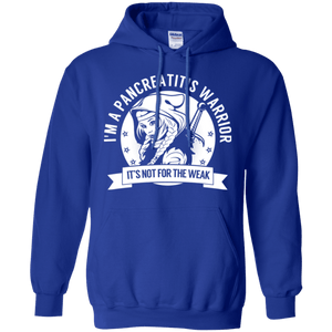 Pancreatitis Warrior Hooded Pullover Hoodie 8 oz. - The Unchargeables