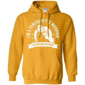 Pancreatitis Warrior Not For The Weak Pullover Hoodie 8 oz - The Unchargeables