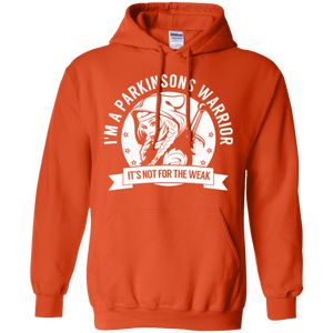 Parkinsons Warrior Hooded Pullover Hoodie 8 oz. - The Unchargeables
