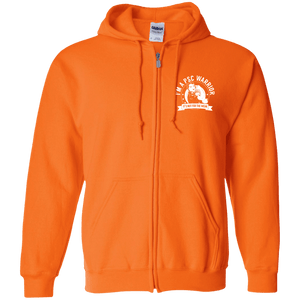 Primary Sclerosing Cholangitis - PSC Warrior NFTW Zip Up Hooded Sweatshirt - The Unchargeables