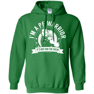 Pulmonary Fibrosis - PF Warrior Not For The Weak Pullover Hoodie 8 oz - The Unchargeables