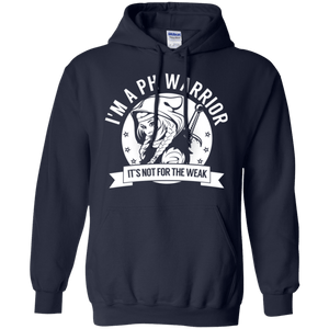Pulmonary Hypertension - PH Warrior Hooded Pullover Hoodie 8 oz. - The Unchargeables