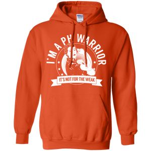 Pulmonary Hypertension - PH Warrior Not For The Weak Pullover Hoodie 8 oz. - The Unchargeables