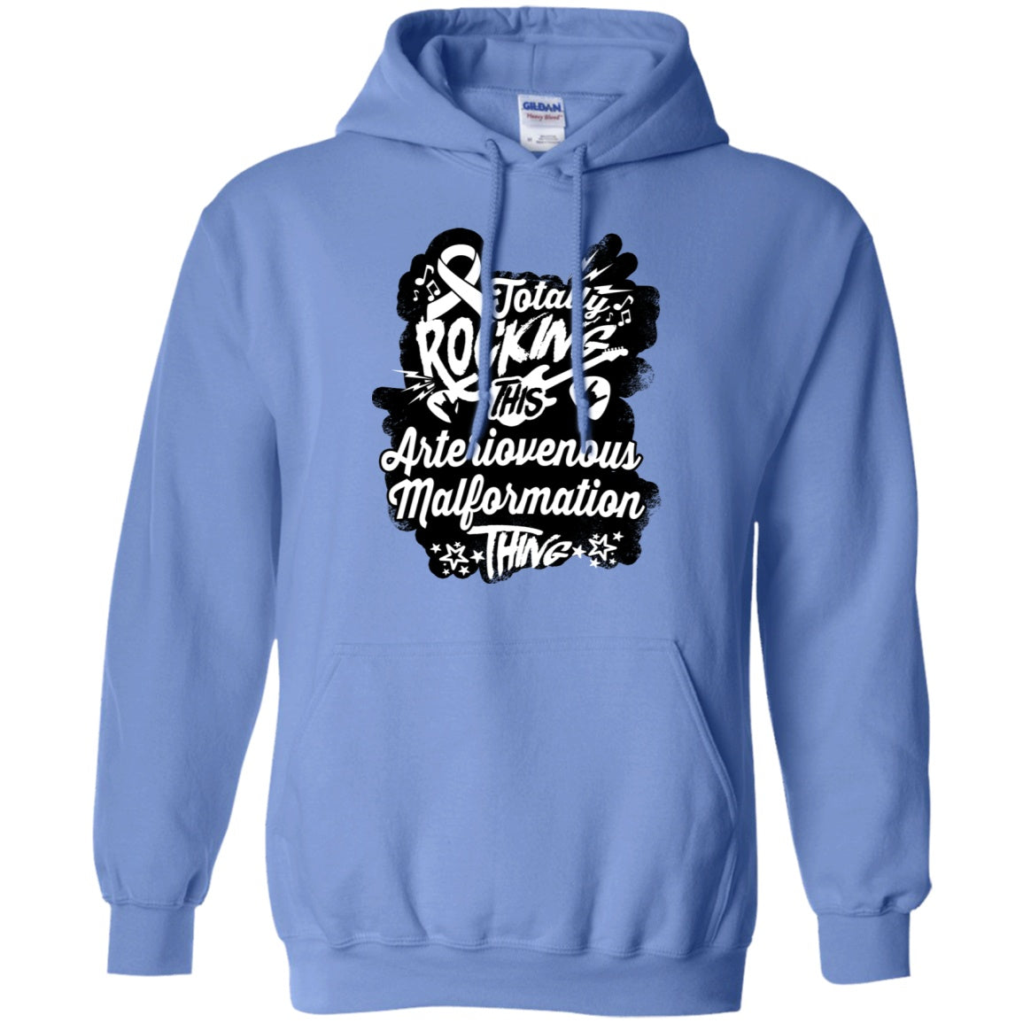 Rocking Arteriovenous Malformation Pullover Hoodie 8 oz. - The Unchargeables