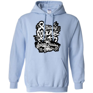 Sweatshirts - Rocking Spinal Fusion Pullover Hoodie 8 Oz.