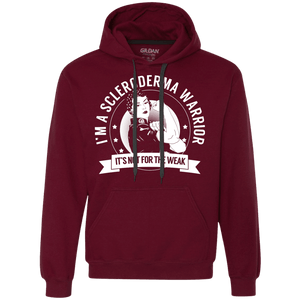 Scleroderma Warrior Not For The Weak Pullover Hoodie - The Unchargeables