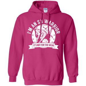 Spina Bifida - SB Warrior Hooded Pullover Hoodie 8 oz. - The Unchargeables
