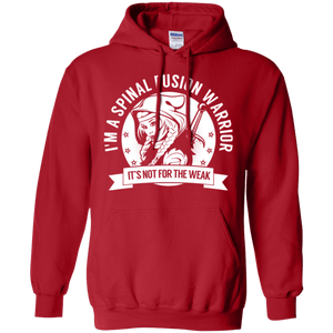 Spinal Fusion Warrior Hooded Pullover Hoodie 8 oz. - The Unchargeables