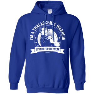 Thalassemia Warrior Not For The Weak Pullover Hoodie 8 oz - The Unchargeables