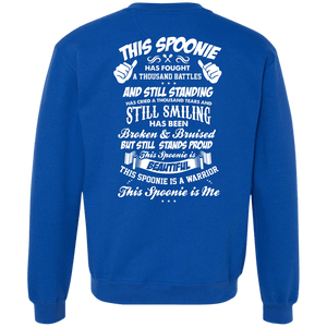 Sweatshirts - This Spoonie Is Me Back Print Crewneck Sweatshirt