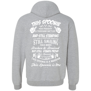 Sweatshirts - This Spoonie Is Me Back Print Pullover Hoodie