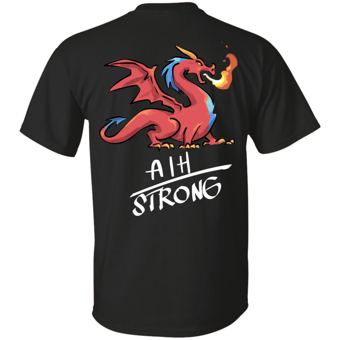 AIH Strong Dragon Unisex T-Shirt - The Unchargeables