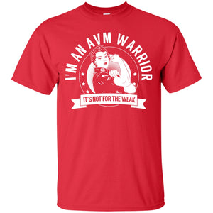 T-Shirts - Arteriovenous Malformation - AVM Warrior NFTW Unisex Shirt