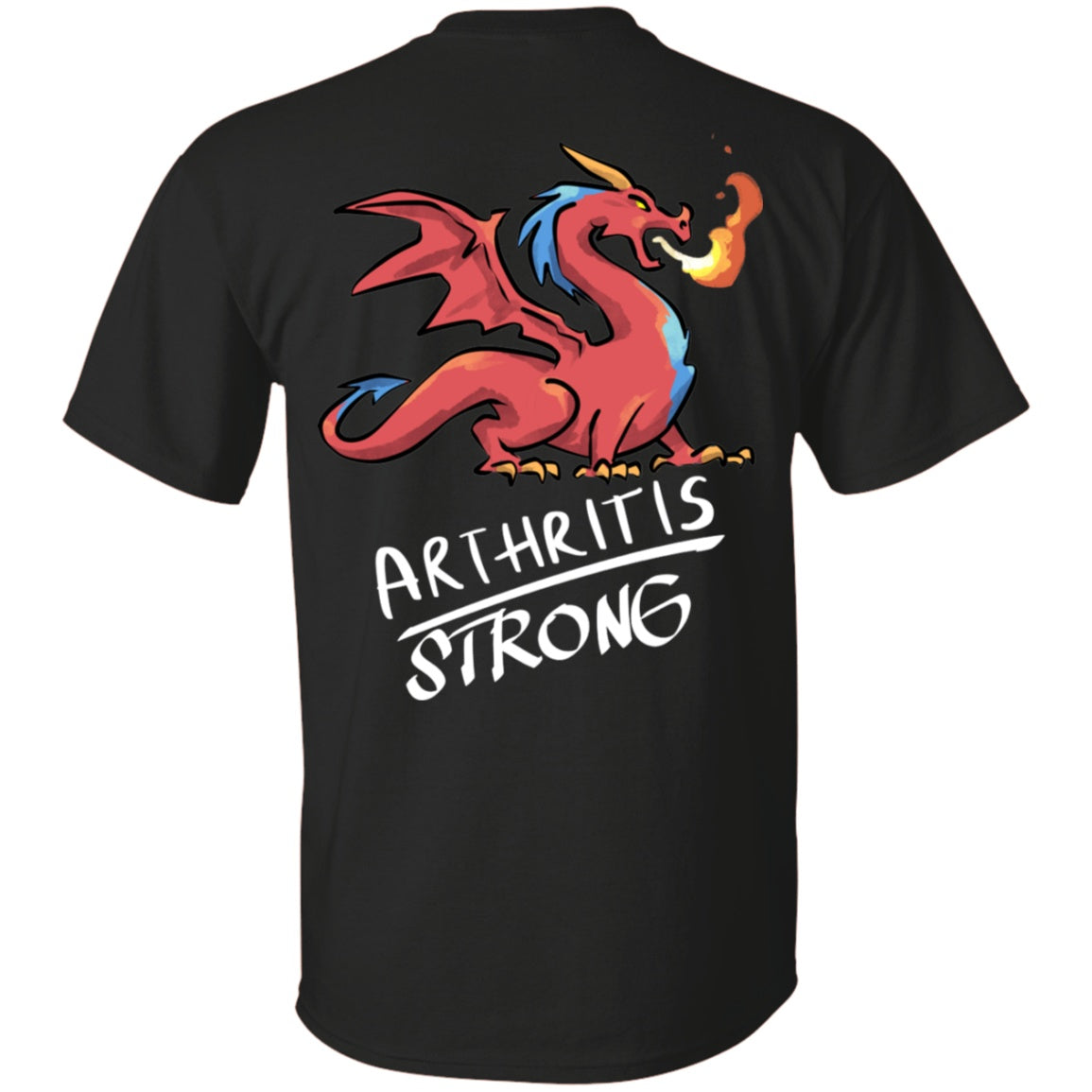 Arthritis Strong Dragon Unisex T-Shirt - The Unchargeables