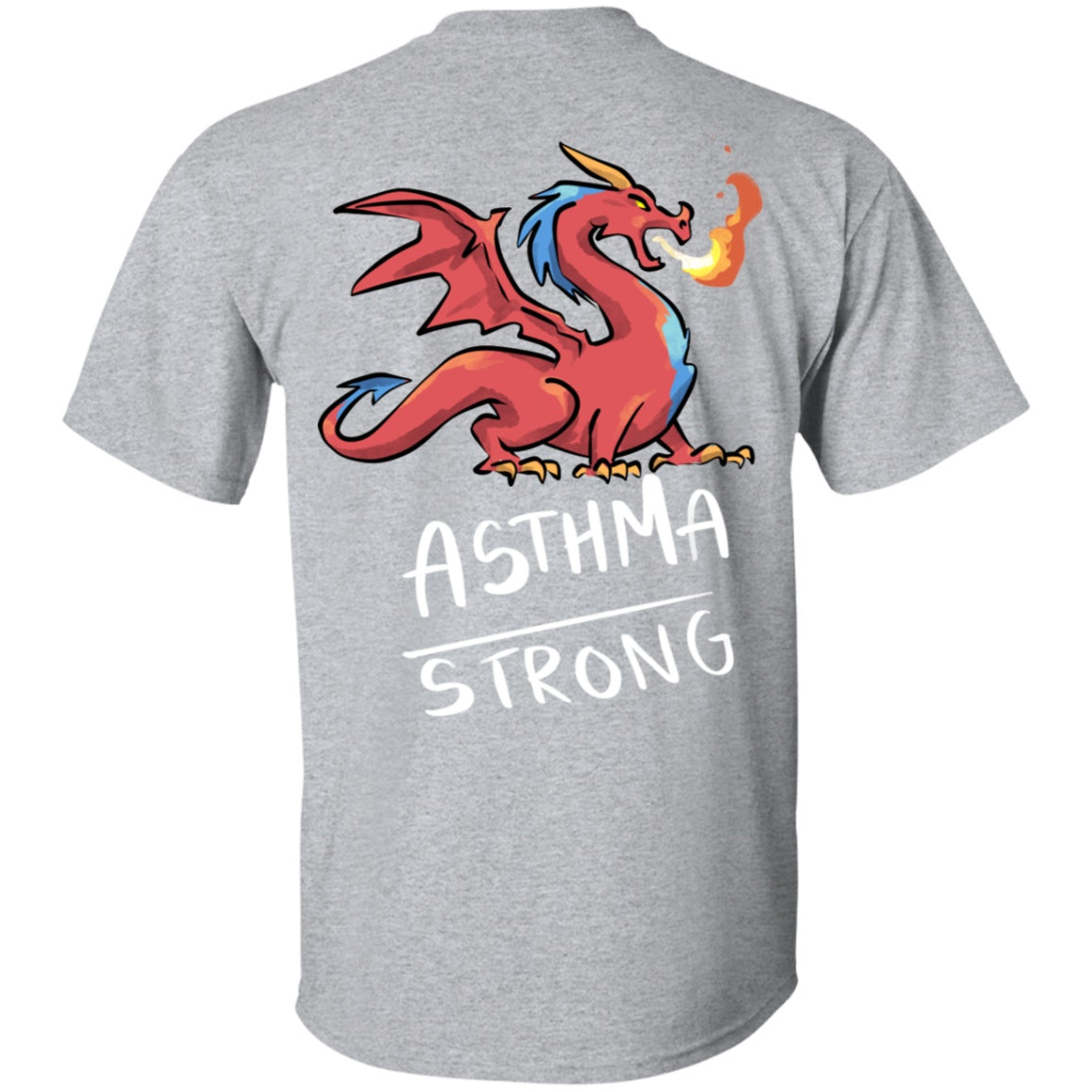 Asthma Strong Dragon Unisex T-Shirt - The Unchargeables