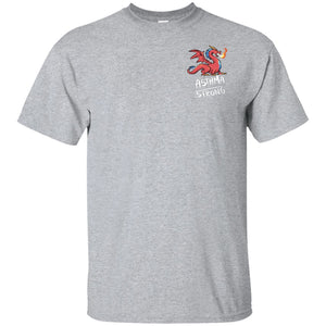 Asthma Strong Dragon Unisex T-Shirt