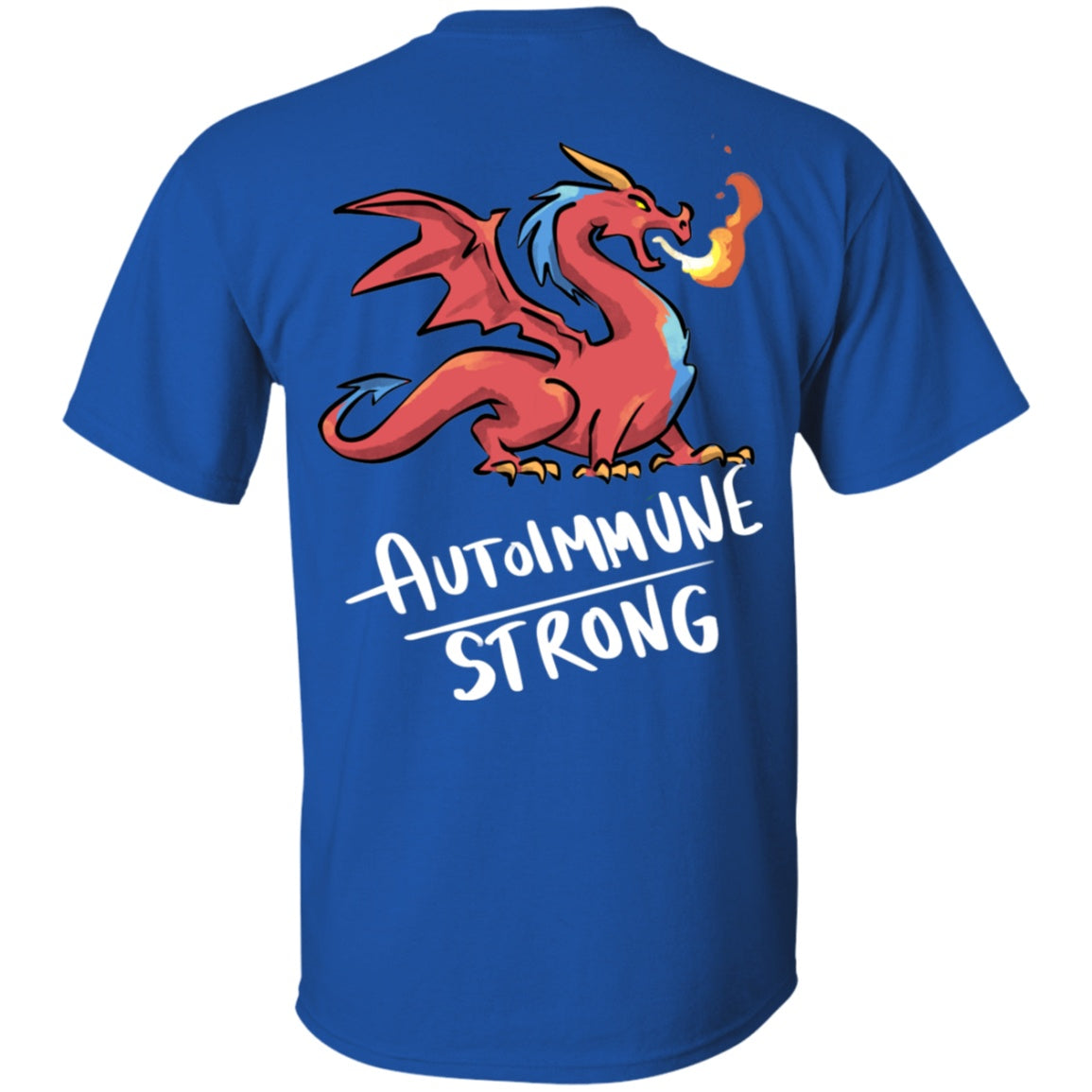 Autoimmune Strong Dragon Unisex T-Shirt - The Unchargeables