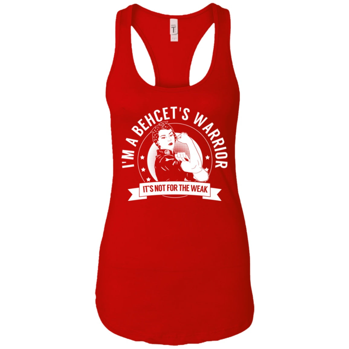 Behcet's Warrior NFTW Ideal Racerback Tank - The Unchargeables