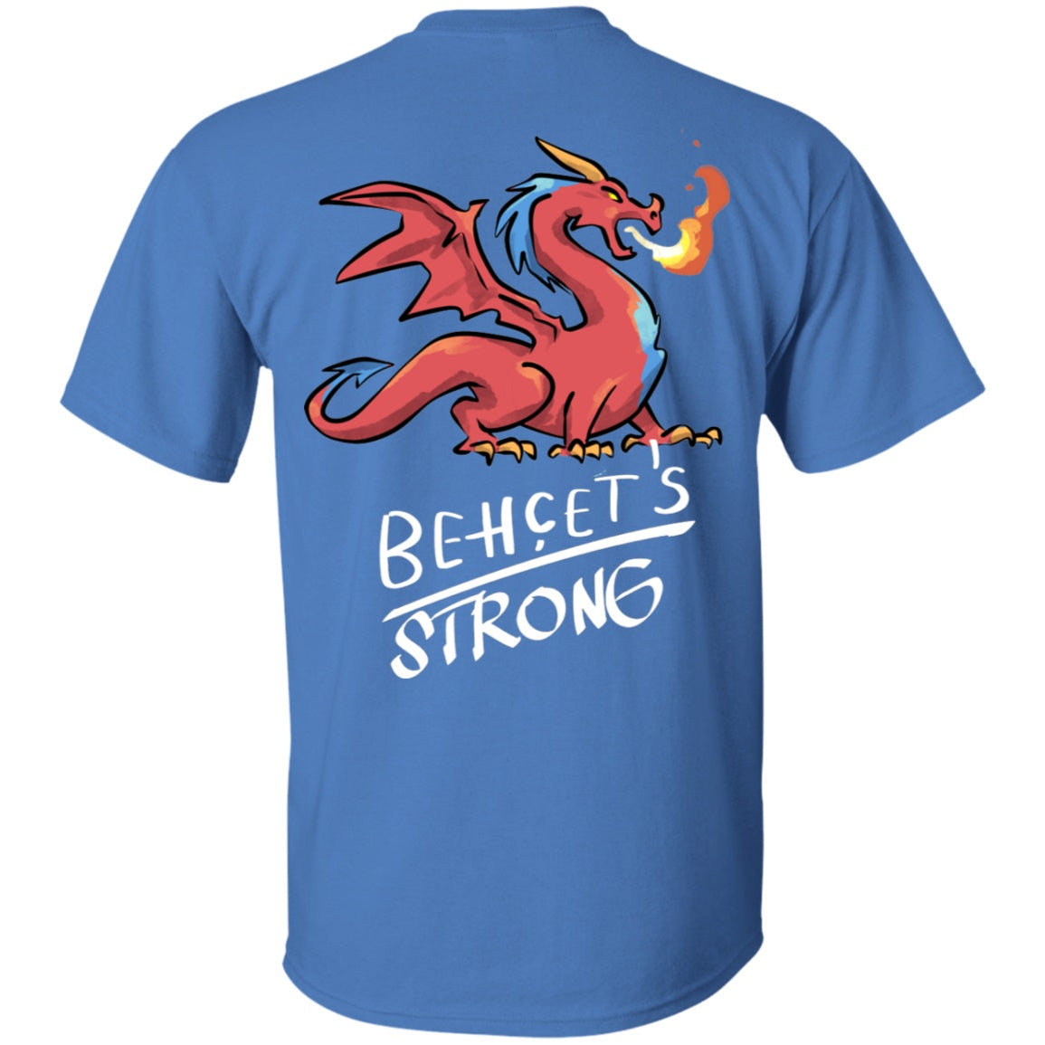 Behcets Strong Dragon Unisex T-Shirt - The Unchargeables