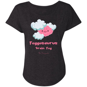 T-Shirts - Brain Fog Monster Dolman Sleeve