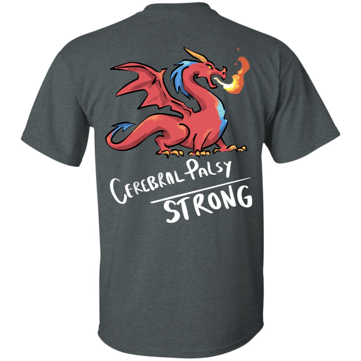 Cerebral Palsy Strong Dragon Unisex T-Shirt - The Unchargeables