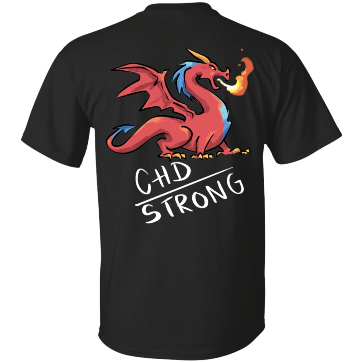 CHD Strong Dragon Unisex T-Shirt - The Unchargeables