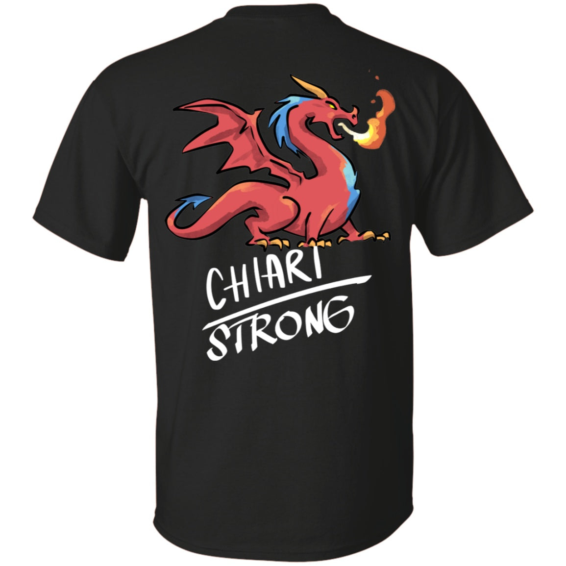 Chiari Strong Dragon Unisex T-Shirt - The Unchargeables