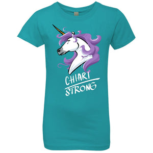 Chiari Strong Unicorn Girls' Princess T-Shirt - The Unchargeables