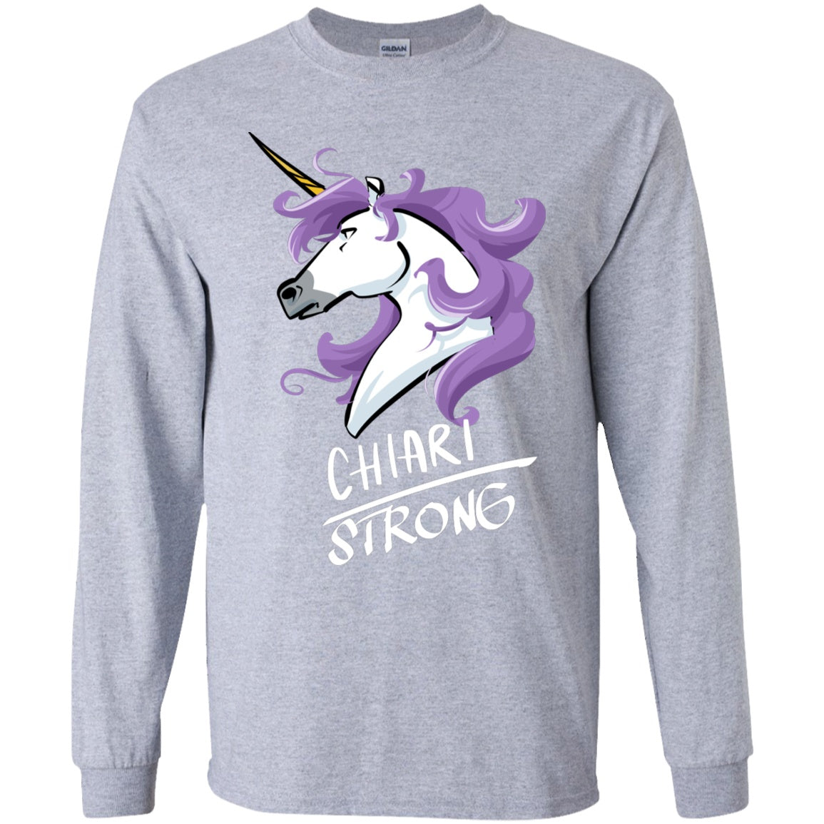 Chiari Strong Unicorn Youth Long Sleeve Unisex - The Unchargeables
