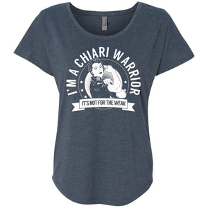 T-Shirts - Chiari Warrior Not For The Weak Dolman Sleeve