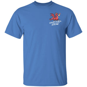 Chronic Illness Strong Dragon Unisex T-Shirt - The Unchargeables