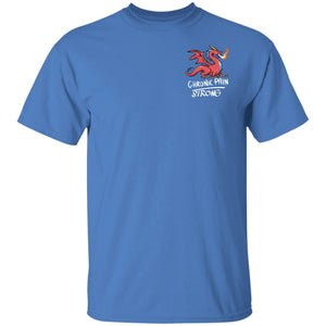 Chronic Pain Strong Dragon Unisex T-Shirt - The Unchargeables