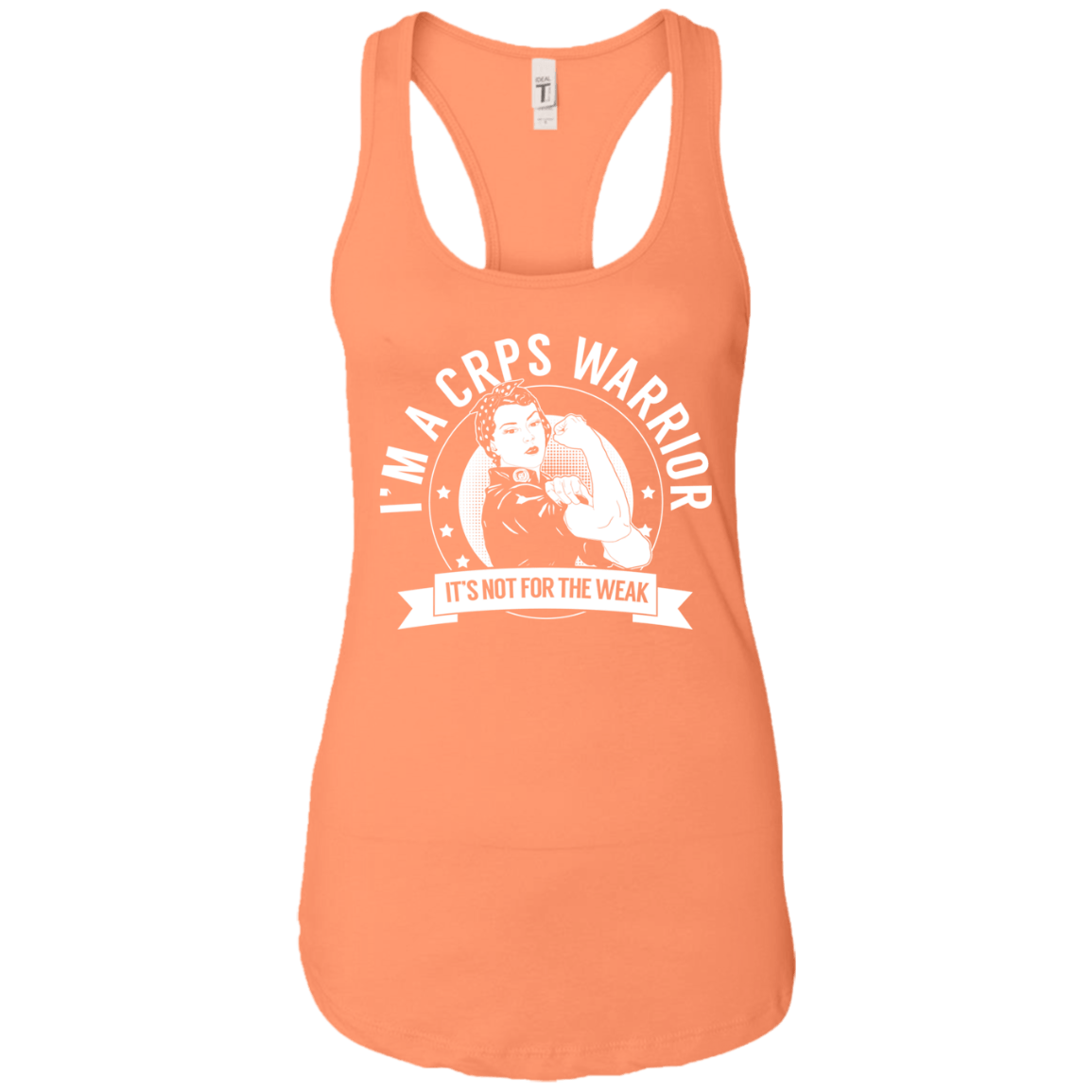 Complex Regional Pain Syndrome - CRPS Warrior NFTW Ideal Racerback Tank - The Unchargeables