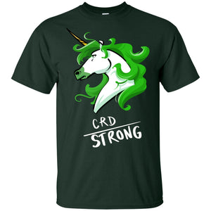 CRD Strong Unicorn Cotton Unisex T-Shirt
