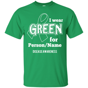 Customisable I Wear Green For Unisex Shirt - The Unchargeables