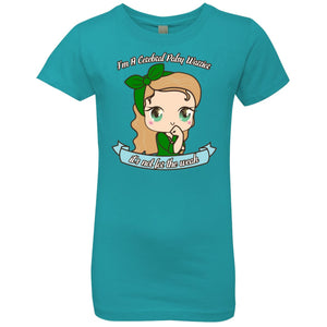 Cute Cerebral Palsy Warrior Girls' Princess T-Shirt