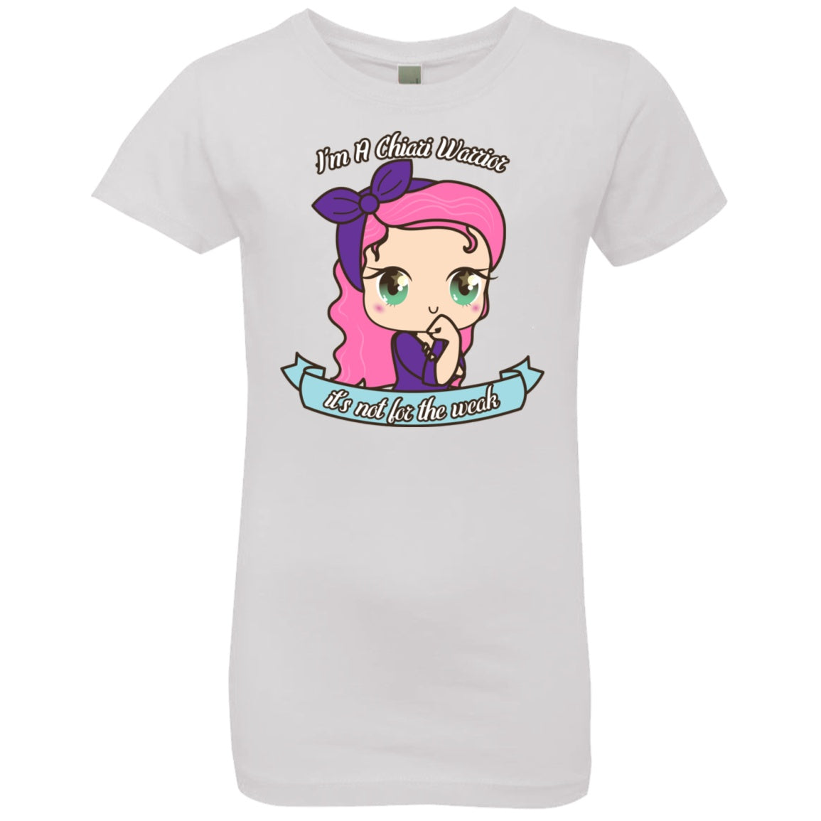 Cute Chiari Warrior Girls' Princess T-Shirt - The Unchargeables
