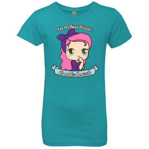 Cute Chiari Warrior Girls' Princess T-Shirt