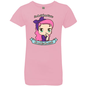 Cute Epilepsy Warrior Girls' Princess T-Shirt