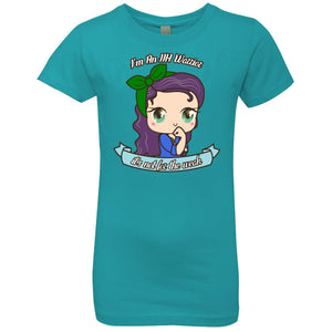 Cute IIH Warrior Girls' Princess T-Shirt