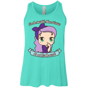 Cute Invisible Illness Warrior Youth Flowy Racerback Tank